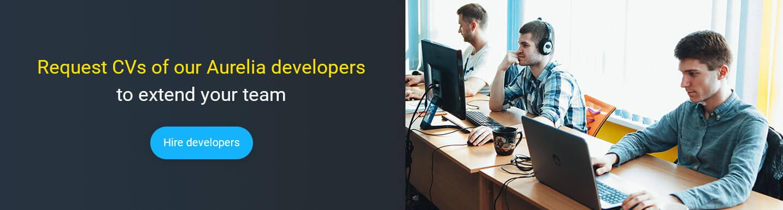 hire AureliaJS developer at Mobilunity