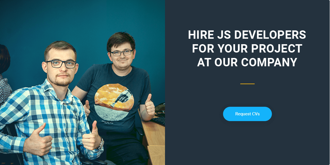 hire JS developer with skills in SproutCore, Riot.js, Dojo