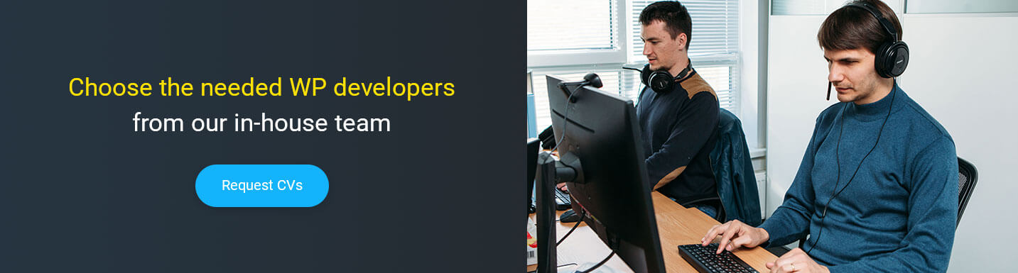 hire WordPress developers in Ukraine