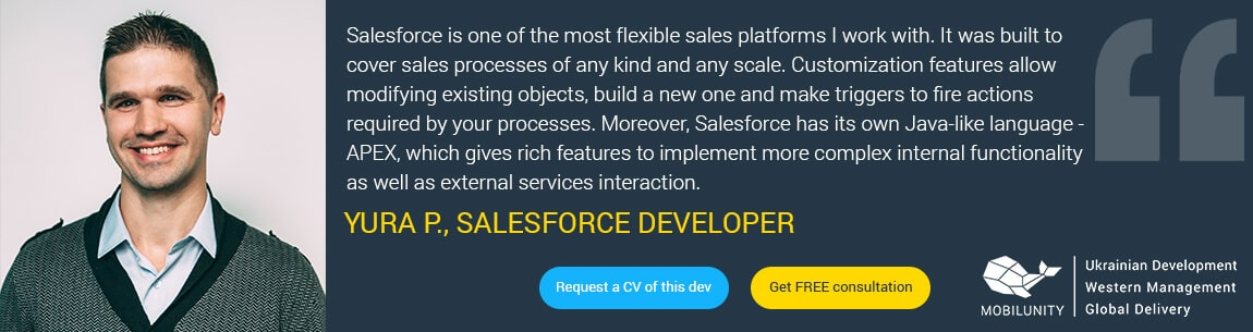 salesforce demandware programmer quote
