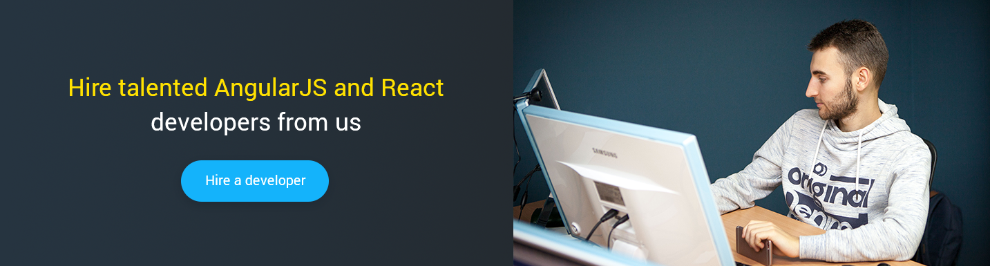 hire developers to migrate from angular to react