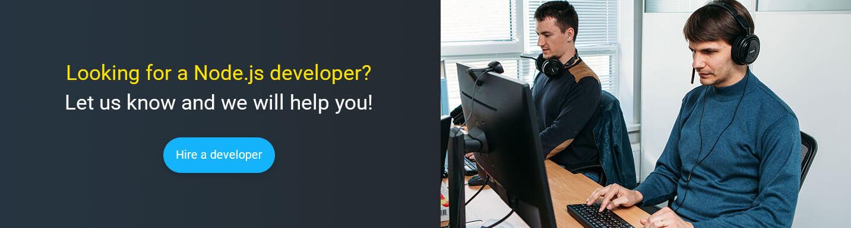 hire nodejs developer at Mobilunity