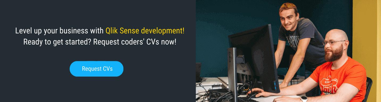 hire qlik sense programmer in mobilunity