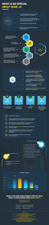 node js programming infographic