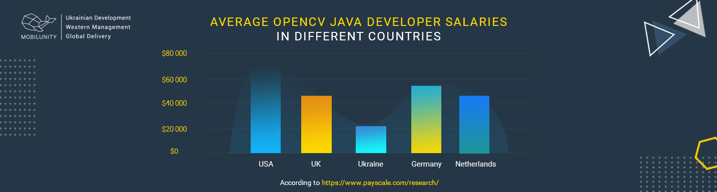 opencv java developers salary