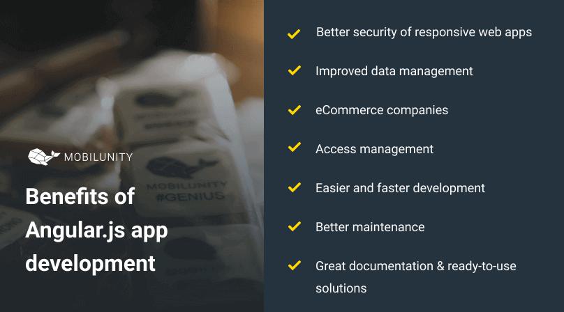 benefits of angular js application development