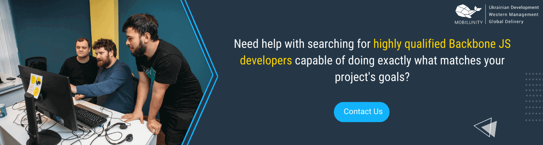 hire backbone js developer remotely in mobilunity