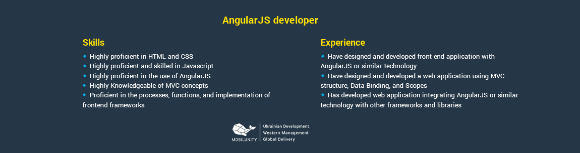 sample of cv of angularjs programmer