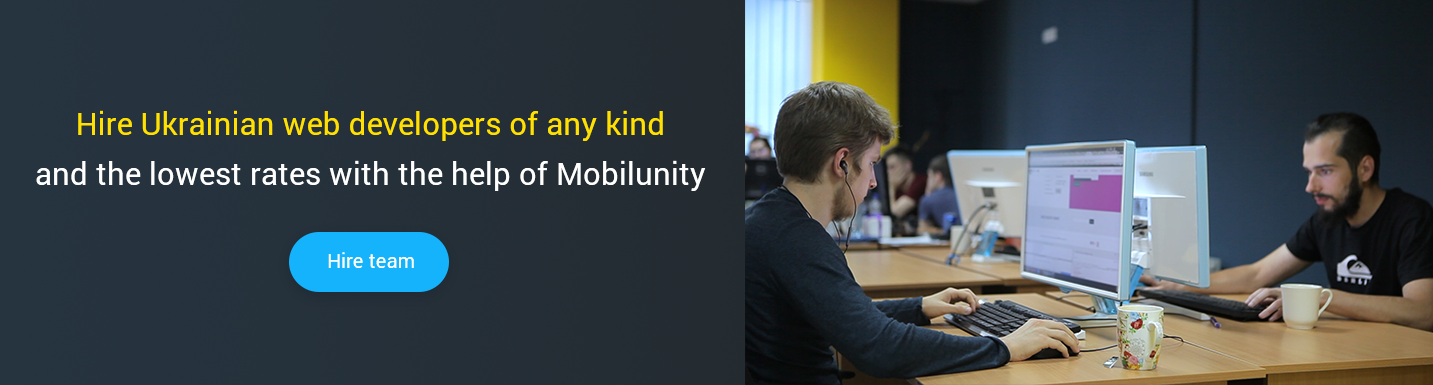 hire ukrainian programmers at mobilunity