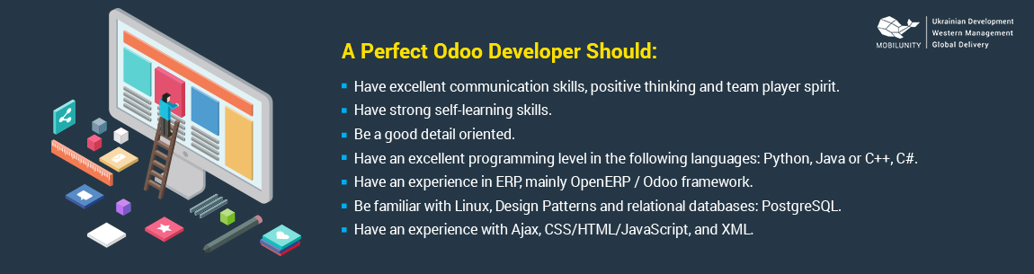 knowledge odoo openerp developer should have