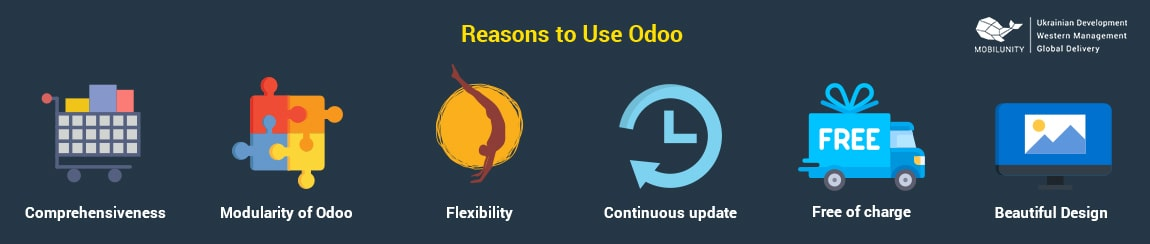 reasons to use odoo for odoo website integration