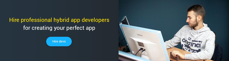 remote hybrid app developer for hire