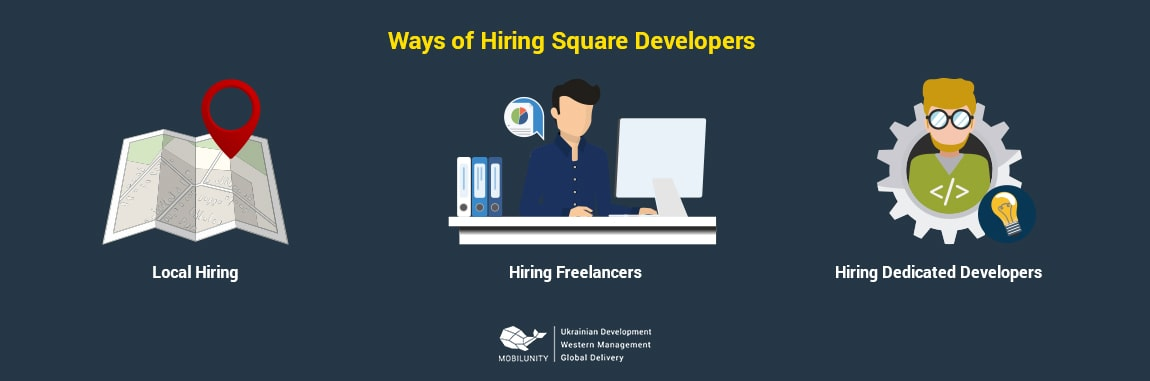 ways of hiring of square developers