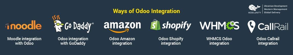 ways of odoo integrations