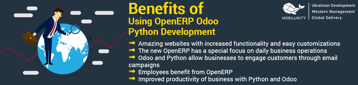 Benefits of Using OpenERP Odoo Python Development