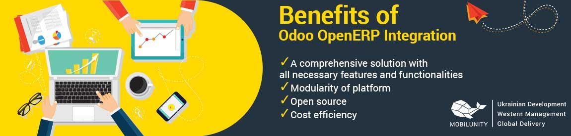 benefits of odoo openerp integration