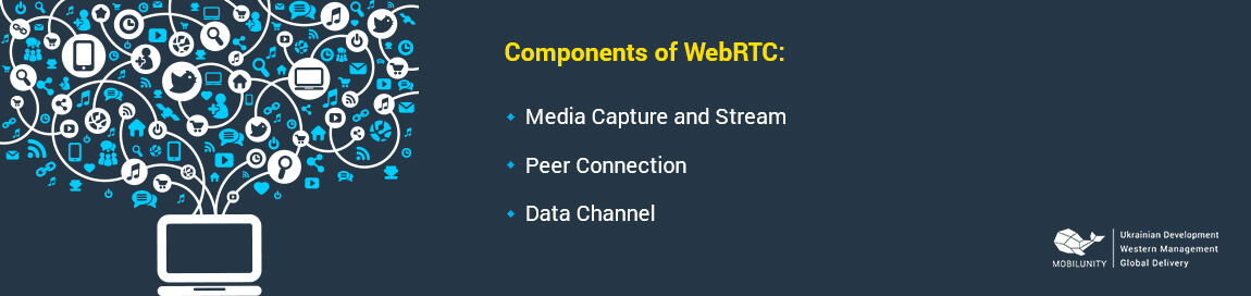 components of webrtc development