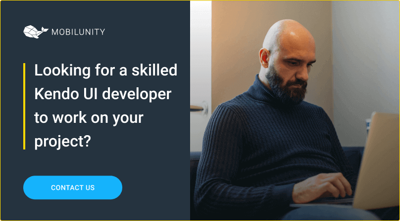 find your ideal kendo ui developer at mobilunity