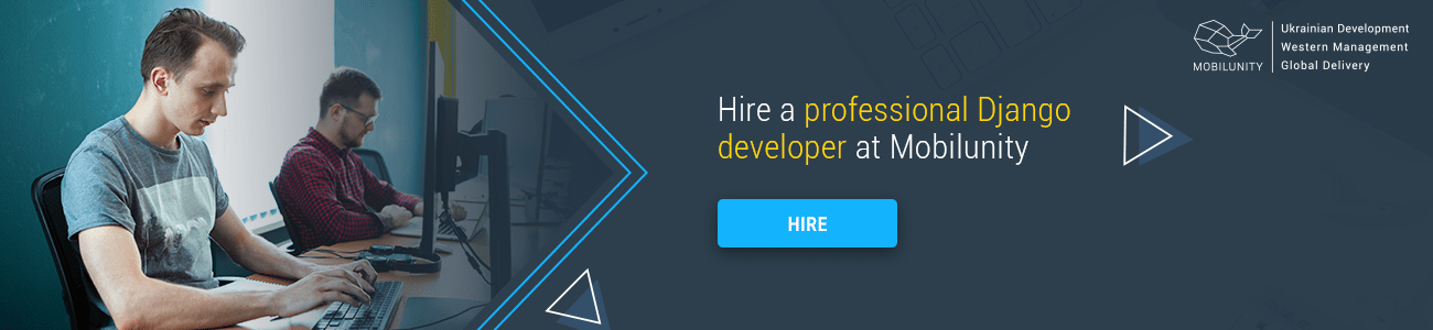 hire django developer at Mobilunity