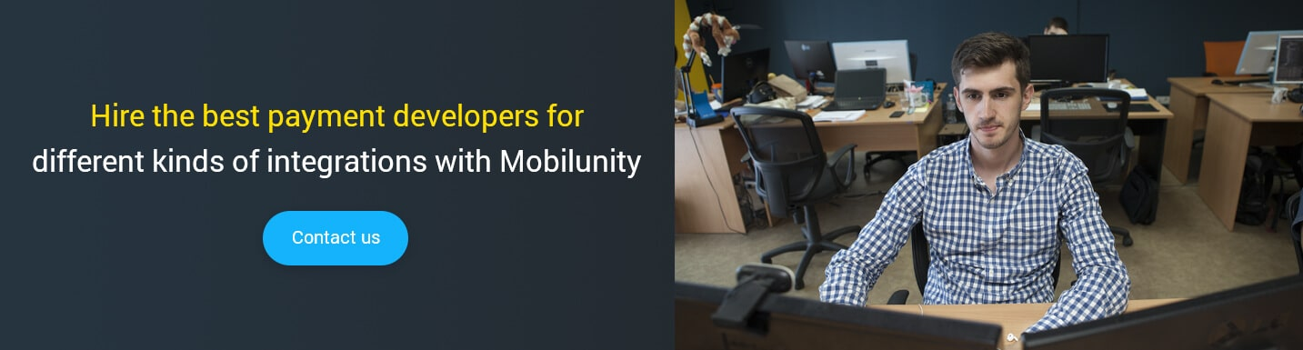 hire payment developer at Mobilunity