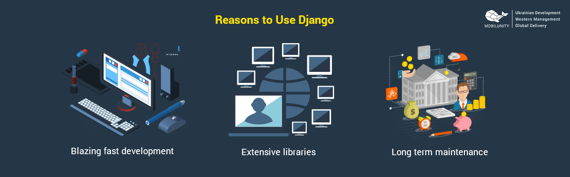 reasons why django developers use this technology