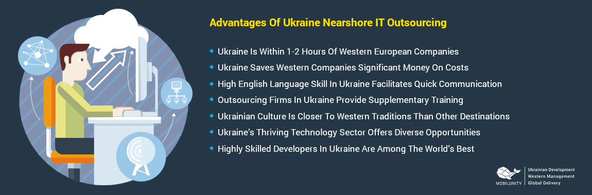 advantages of nearshore it outsourcing to Ukraine