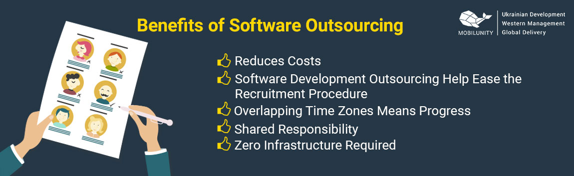 benefits of software development outsourcing companies