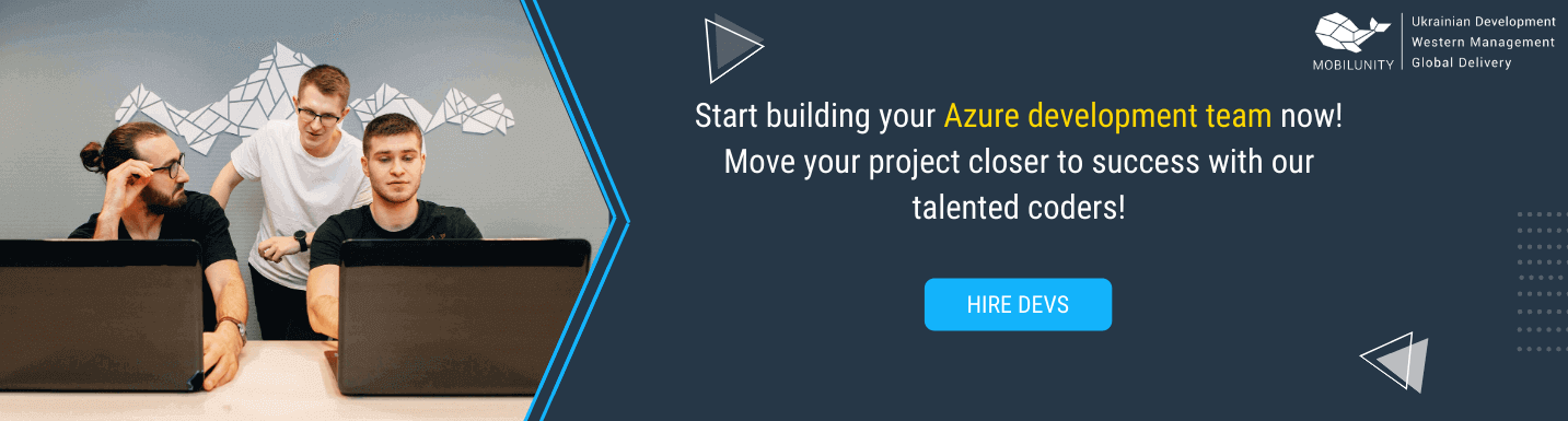 hire azure developers in mobilunity
