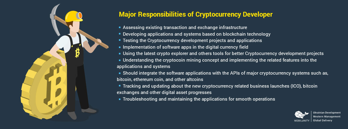 major skills of cryptocurrency developers