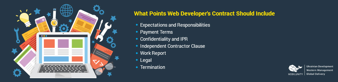 points of developer contract