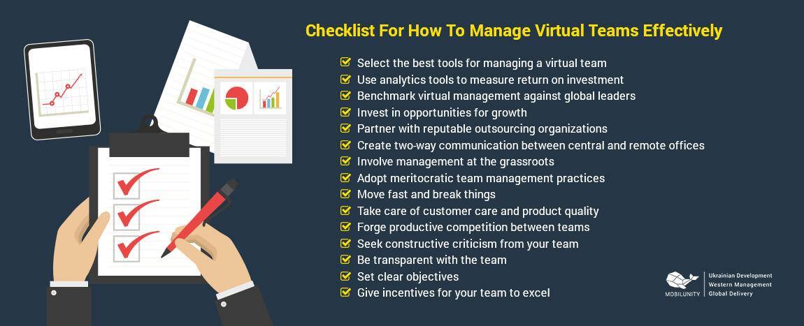 strategies for managing virtual teams