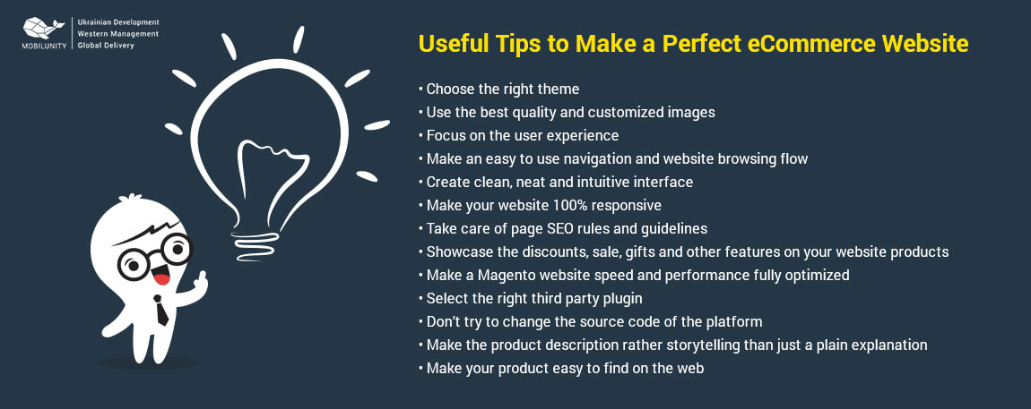 tips to make the best ecommerce websites