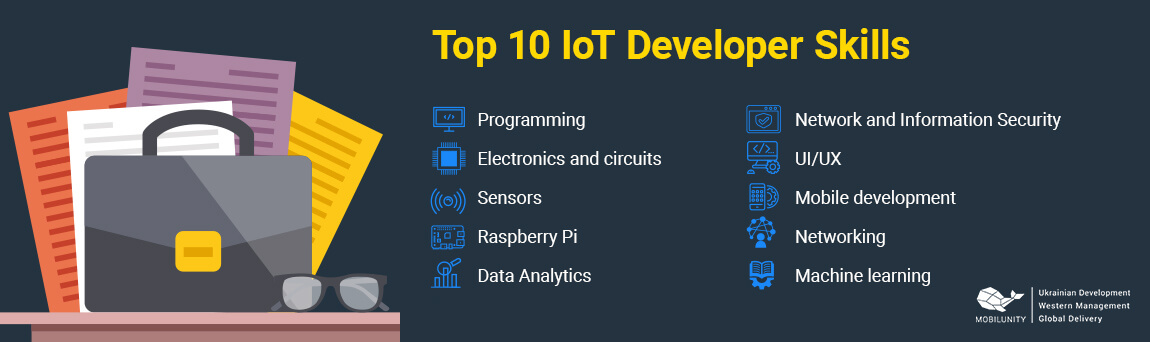 top 10 iot developer skills