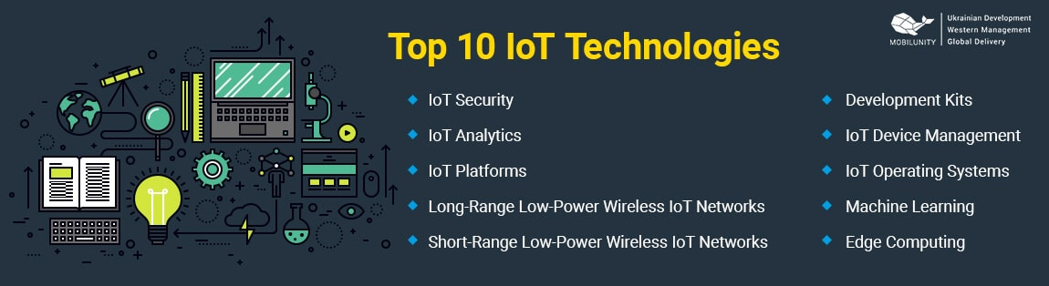 top 10 iot technologies