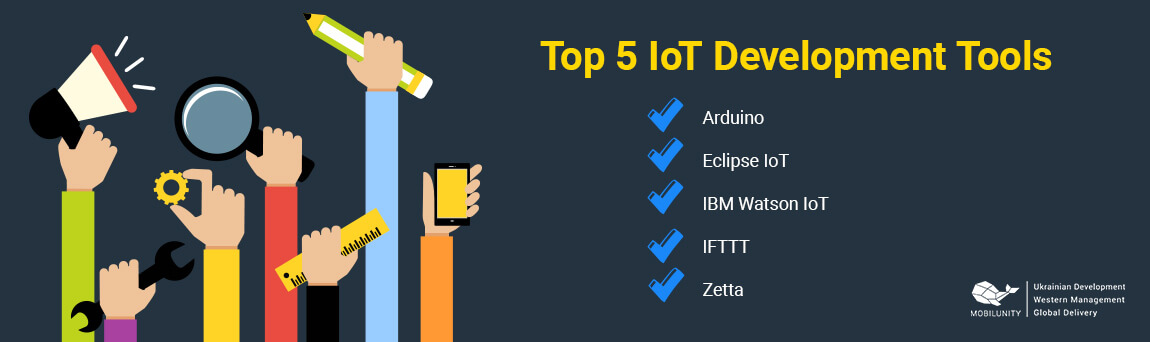 top 5 iot development tools