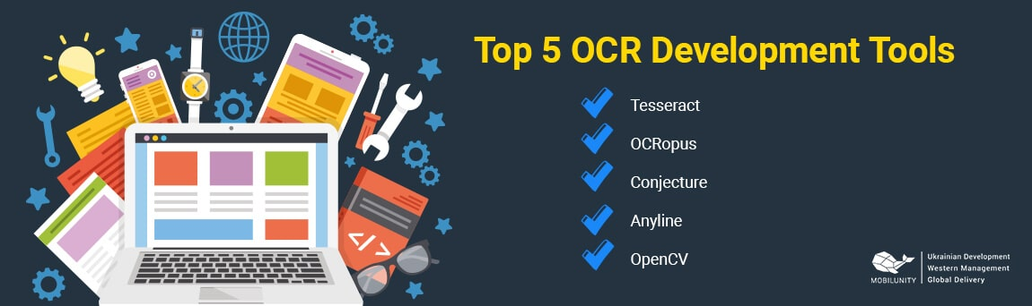 top 5 ocr programmer tools