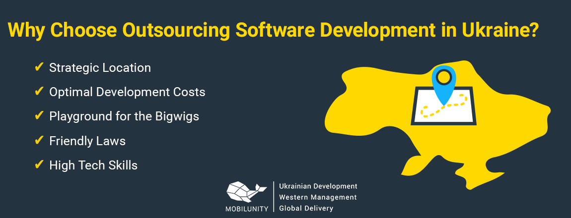 why outsourcing software development ukraine