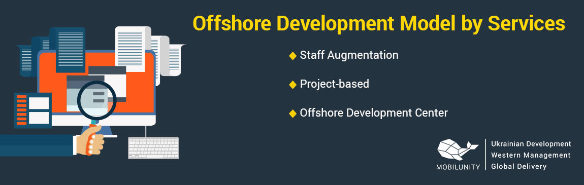 Offshore Development Model by Services