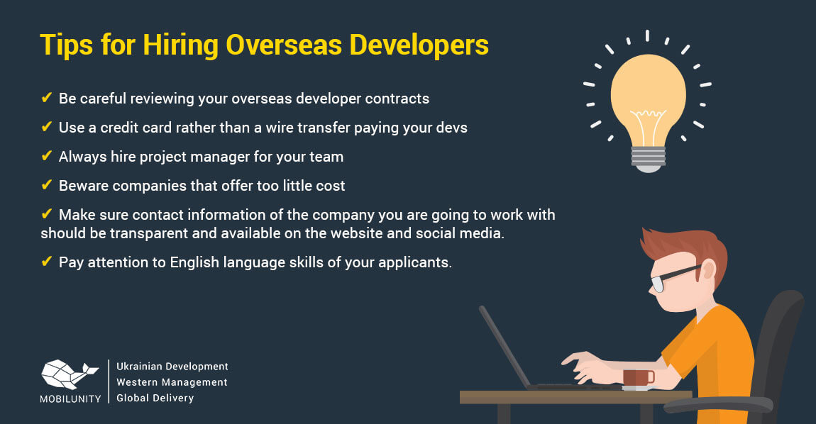 best way to find a developer overseas