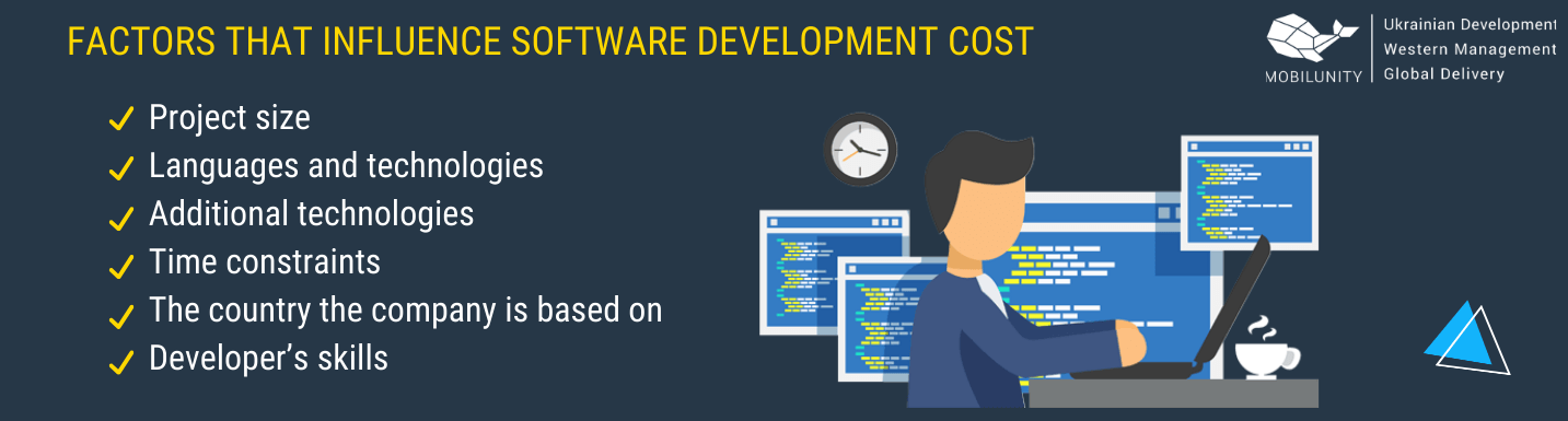 factors that make an impact on software developer costs