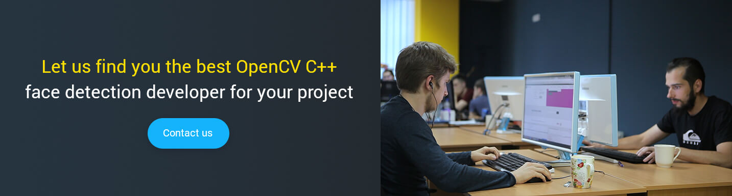 hire opencv c++ face detection developer