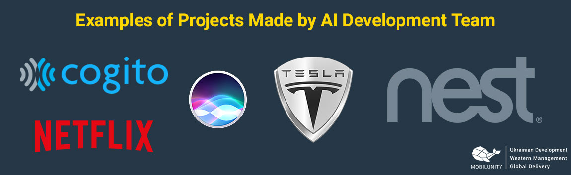 projects made by AI development team
