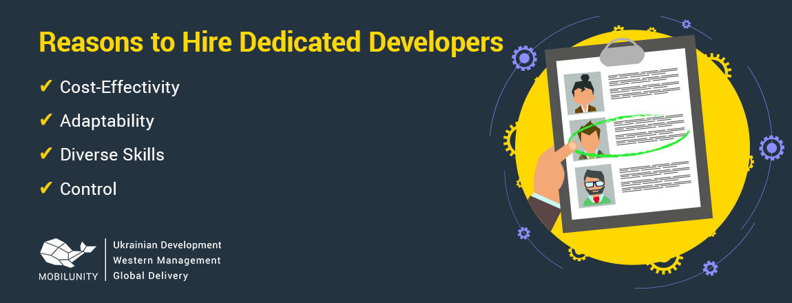 reasons to hire dedicated developers