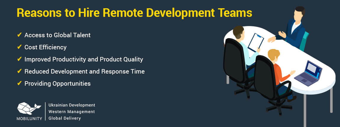 reasons to hire remote team