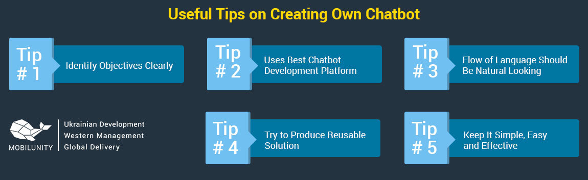 tips to create your own chatbot