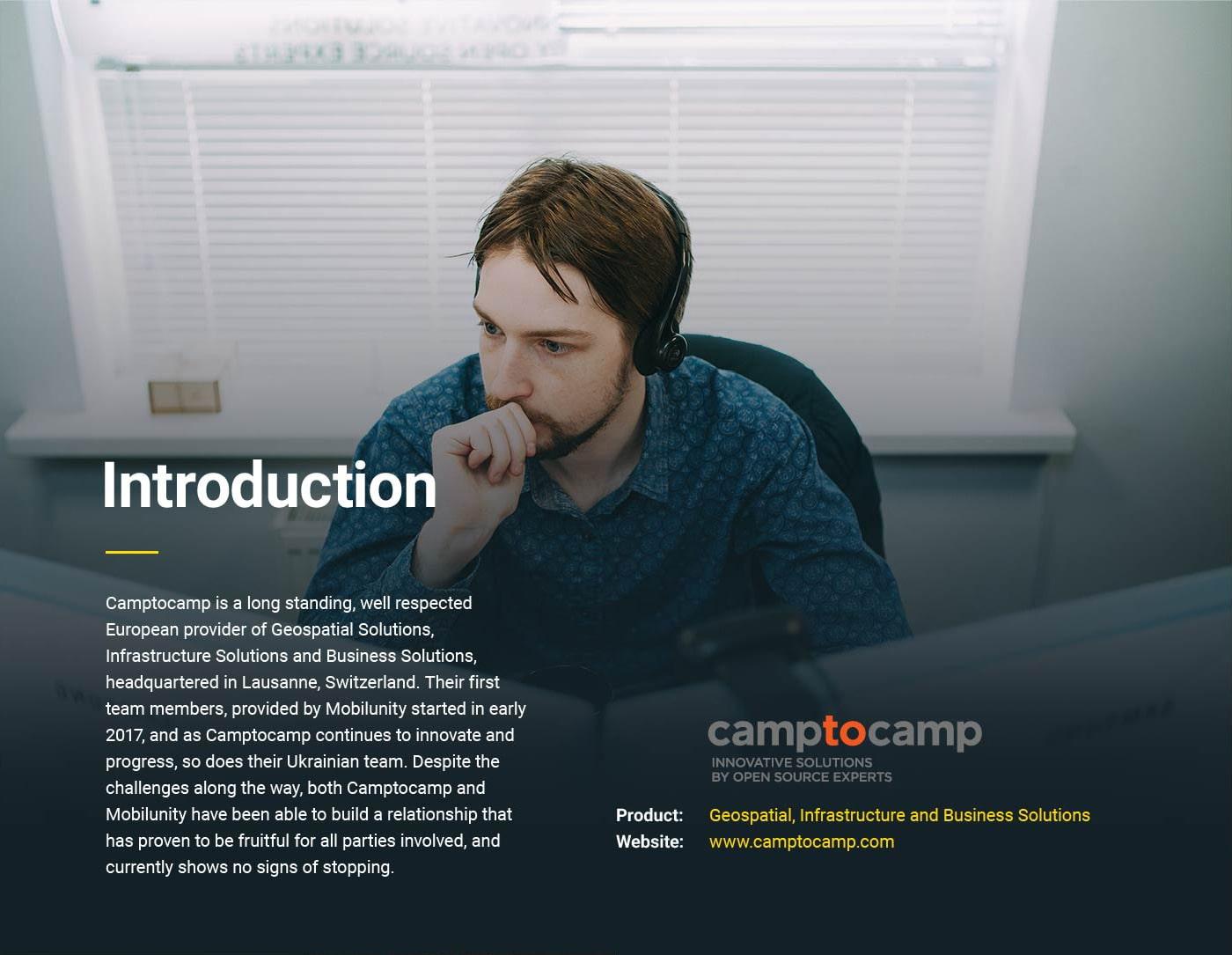 Camptocamp Case Study 1