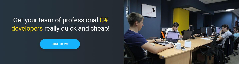 hire c# developer at Mobilunity