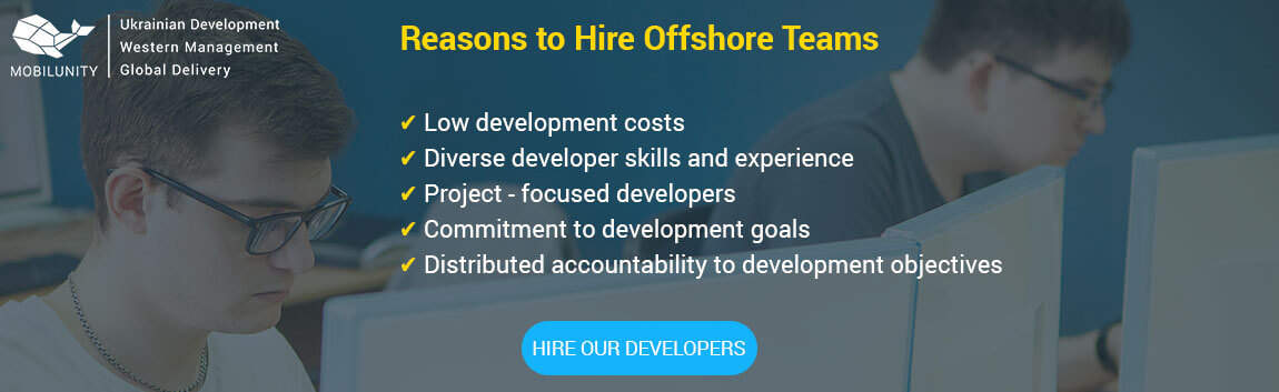 hire offshore team with Mobilunity