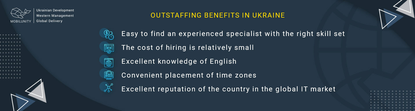 outstaffing benefits in ukraine