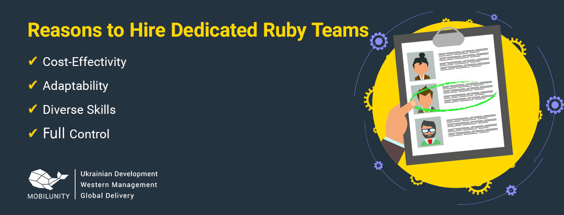 reasons to hire remote Ruby team